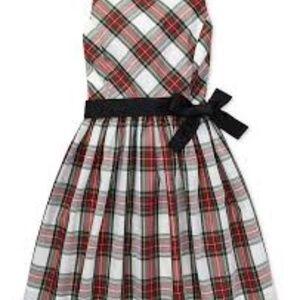 NWT Ralph Lauren Tartan Plaid Holiday Dress NEW